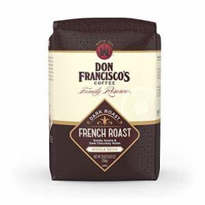 Don Francisco's French Dark Roast Whole Bean Coffee, French Roast Whole Bean, 28 Oz for $18
