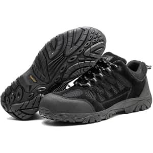 Tosafzxy Men's Composite Toe Safety Shoes for $45