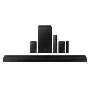 """Samsung 38.6"""" 7.1-Channel Home Theater Sound System w/ Wireless Subwoofer and Rear Speakers for $300 for members"""