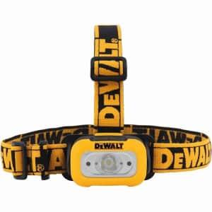 DeWalt 200 Lumen LED Headlamp for $16