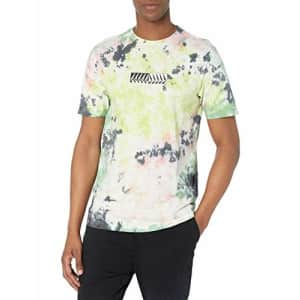 Volcom Men's Postion Short Sleeve Tie Dyed T-Shirt, Multi, Large for $22