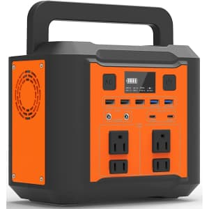 Yuirqiin Explorer 300 Portable Power Station for $150