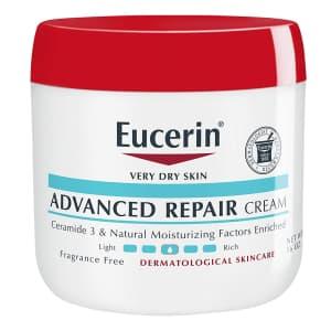Eucerin Advanced Repair Cream 16-oz. Jar for $6.74 w/ Sub & Save