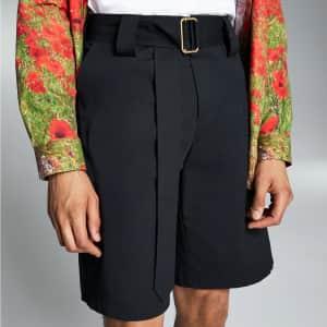INC x Allen Onyia Men's Belted Shorts for $17