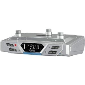 Jensen Under-Cabinet Bluetooth Music System w/ Alexa for $65