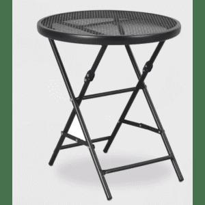 "Threshold 18"" Steel Mesh Patio Folding Table for $26"