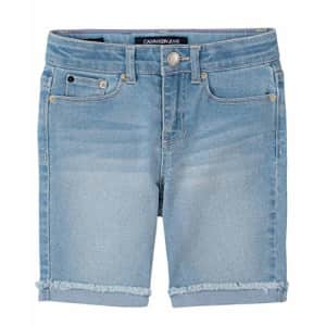 Calvin Klein Big Girls' Bermuda Short, S20 Cut Off Mist, 12 for $30