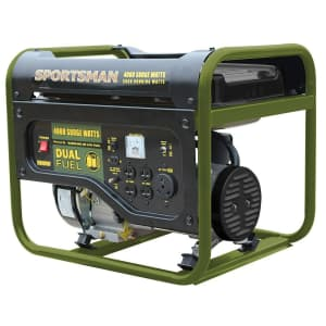 Sportsman 4,000W Dual Fuel Generator for $340