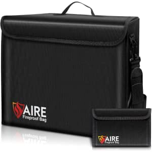 Aire Fireproof Document Bag Kit for $33