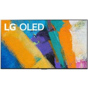 "LG GX 77"" 4K HDR OLED UHD Smart TV for $3,297 w/ $200 Visa gift card"