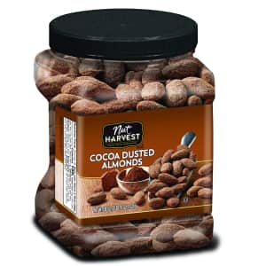 Nut Harvest Cocoa Dusted Almonds 36-oz. Jar for $13 w/ Sub & Save