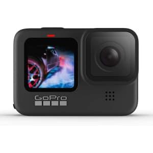 GoPro HERO9 Black Waterproof Action Camera for $400