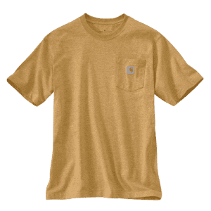 Carhartt Men's K87 Workwear Pocket Short Sleeve T-Shirt for $20