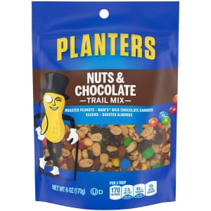 Planters Nuts & Chocolate M&M's Trail Mix 6-oz. Pack for $1.90 via Sub & Save