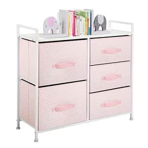 mDesign Storage Dresser Furniture Unit - Large Standing Organizer Chest for Bedroom, Office, Living for $60