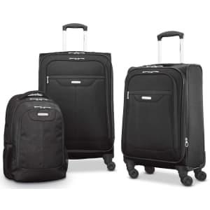 Samsonite Tenacity 3-Piece Luggage Set for $153
