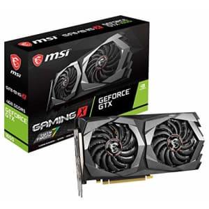 MSI Gaming GeForce GTX 1650 128-Bit HDMI/DP 4GB GDRR5 HDCP Support DirectX 12 Dual Fan VR Ready OC for $544