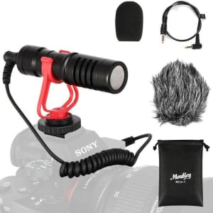 Moukey DSLR Camera Microphone for $14