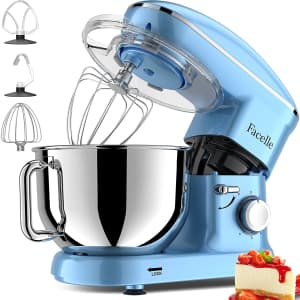 Facelle 5.8-Quart Electric Stand Mixer for $150