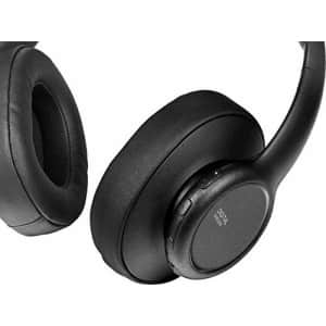 Insignia - NS-HAWHP2 RF Wireless Over-The-Ear Headphones - Black for $60
