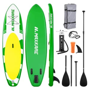 Maxkare Inflatable Stand-Up Paddle Board for $120