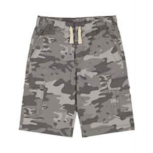 Lucky Brand Boys' Pull-on Shorts, Smoky Camo Pearl, Large (14/16) for $24
