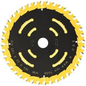 """Dewalt DT10301-QZ 12.6""""/20mm 40WZ Portable Circular Saw Blade for $33"""