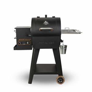 PIT BOSS 10532 PB0500SP Wood Pellet Grill, Black for $499