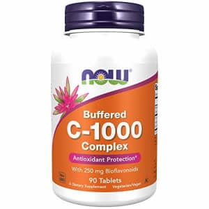 Now Foods NOW Supplements, Vitamin C-1000 Complex with 250 mg of Bioflavonoids, Buffered, Antioxidant for $11