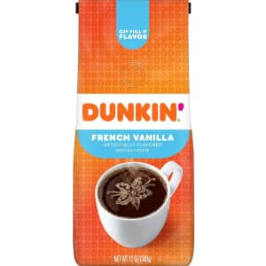 Dunkin Donuts Dunkin' French Vanilla Flavored 12-oz. Ground Coffee for $3.74 via Sub. & Save