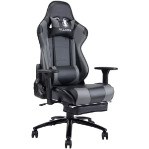 Von Racer Killabee Gaming Chair with Footrest for $160