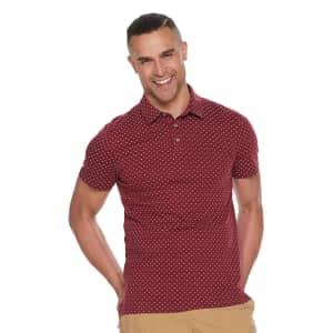 Apt. 9 Men's Regular-Fit Polo Shirt for $9