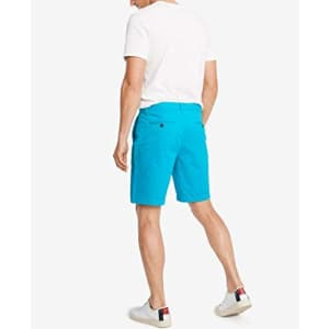 Tommy Hilfiger Men's Casual Stretch Chino Shorts, Capri Breeze, 36 for $43