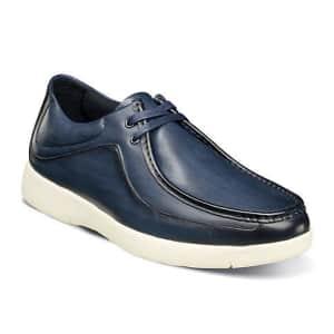 Stacy Adams Men's Hanley Moc Toe Mid Lace Shoes for $27
