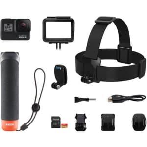 GoPro Hero7 Black 4K Action Camera Bundle for $249