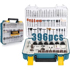 Teccpo 396-Piece Rotary Tool Accessories Kit for $35