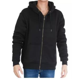 Men's Heavyweight Sherpa-Lined Hoodie Jacket for $20