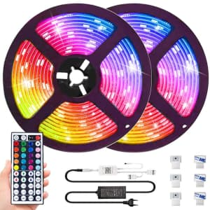 Muzey 32.8-Foot LED Light Strips for $30