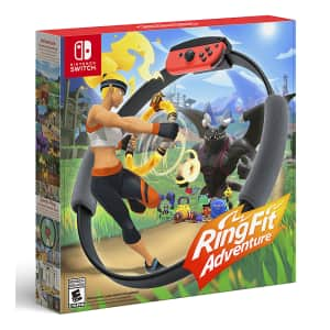 Ring Fit Adventure for Nintendo Switch for $70 in cart