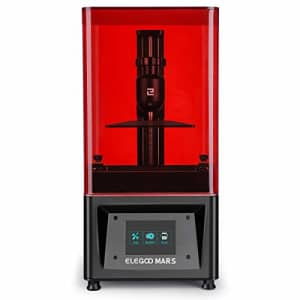 ELEGOO Mars UV Photocuring LCD 3D Printer with 3.5'' Smart Touch Color Screen Off-line Print for $236