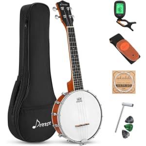 Donner 4-String Banjo Ukulele for $67