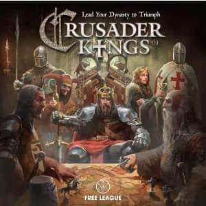 Crusader Kings Board Game for $73