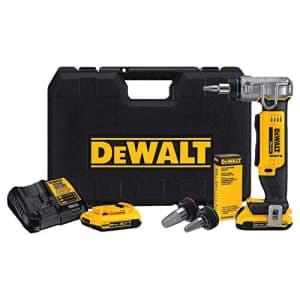 """DEWALT DCE400D2 20V Max 1"""" Pex Expander Tool Kit for $800"""
