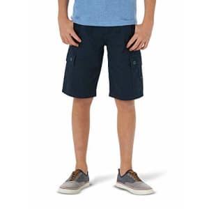 Lee Jeans Lee Boys' Westport Cargo Short, Total Eclipse, 18 Husky for $12
