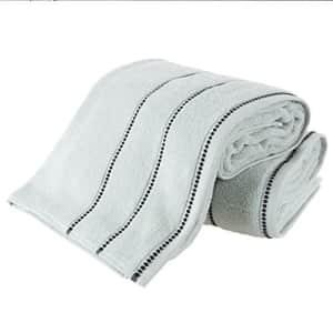 Lavish Home Luxury Cotton Towel Set- 2 Piece Bath Sheet Set Made From 100% Zero Twist Cotton- Quick Dry, Soft for $48