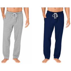 Hanes Men's X-Temp ComfortSoft Jersey Pants w/ Pockets: 2 for $20 in cart