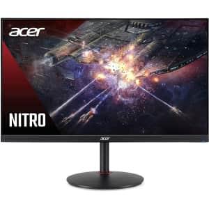 "Acer Nitro XV272U 27"" 1440p IPS 144Hz Gaming Monitor for $264 in-cart"