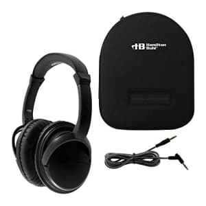 HamiltonBuhl Deluxe Active Noise-Cancelling Headphones with Case for $39