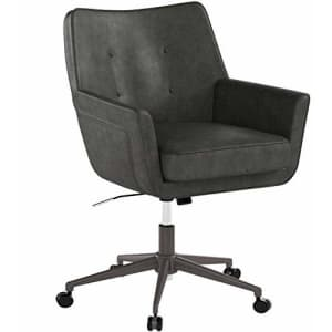 Serta Style Ashland Home Office Chair, Gathering Gray Bonded Leather for $210