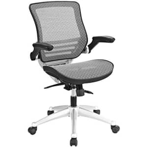 Modway Edge All Mesh Office Chair In Gray With Flip-Up Arms - Perfect For Computer Desks for $230